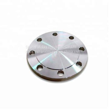 Forged Carbon Steel A105N ASME B16.5 Blind Flange