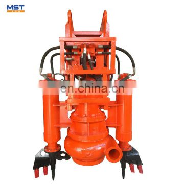 Hydraulic driven submersible sludg dredge pump