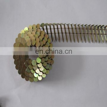 "Factory direct sales 0.092"" hot dipped galvanized pallet wire coil nails"