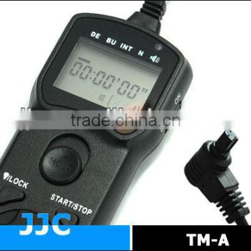 JJC TM-A Timer Remote Controller&Camera Remote Switch replaces TC-80N3 for Canon EOS 1D Mark III etc