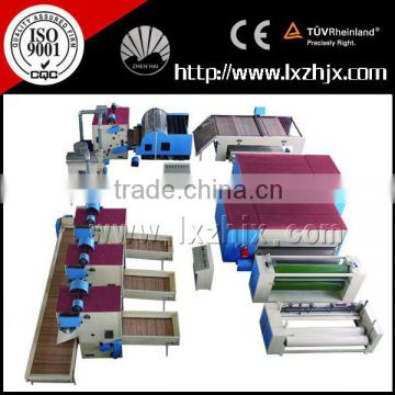 Customization cotton wadding production line, nonwoven polyester fiber bedding line