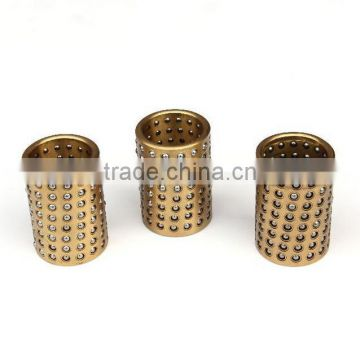 Brass ball cage bearing retainer