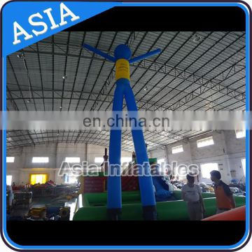Inflatable air dancer man with hands stand, inflatable sky dancer for business promotion