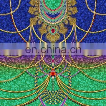 womenneck embroidered Kaftan