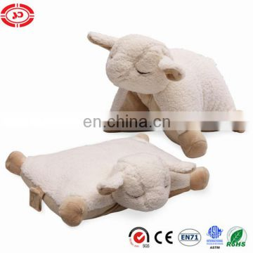 Sheep cushion new design custom mascot interesting toy stuffed soft cushion