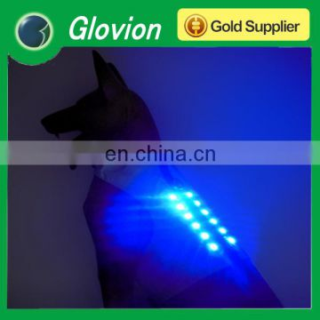 Best quality rechargeable flashing pet clothes xxl dog clothes pets led clothes
