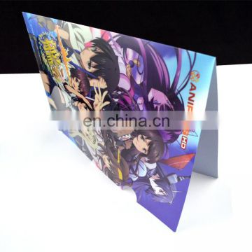 L shape custom design printed pp file a4