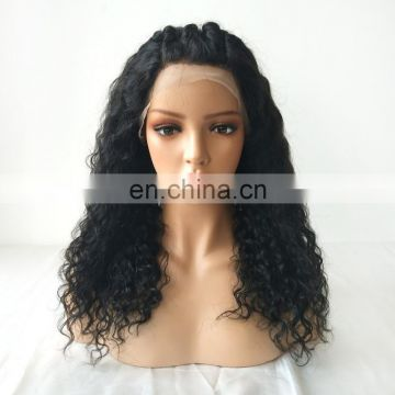 Natural wigs peruvian hair lace front wig