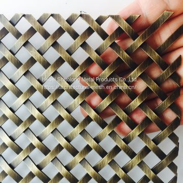 XY-1510G Antique Brass Plated Wire Mesh