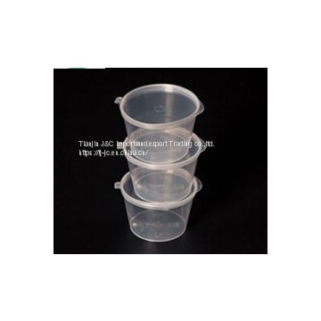 disposable plastic cojoined P2 50ML sauce box