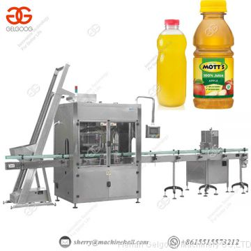 Automatic Water Bottle Filling Machine, Juice Bottle Filling Capping Machine