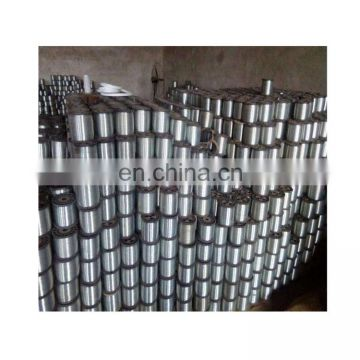 galvanized steel wire 0.45mm packed on the plastic spool