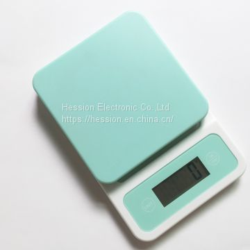 digital coffee scale electronic kitchen scale GKS1564B ABS plastic platform 11lb / 5kg capacity By 0.1oz