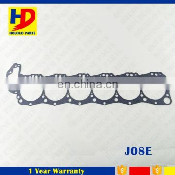 Excavator Engine Parts For Hino J08C J08E Graphite Cylinder Head Gasket
