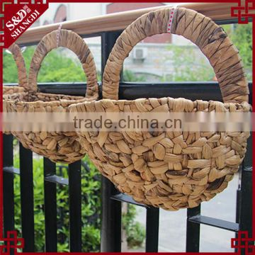 14 Wire Wall Hanging Flower Basket Planter Half Round