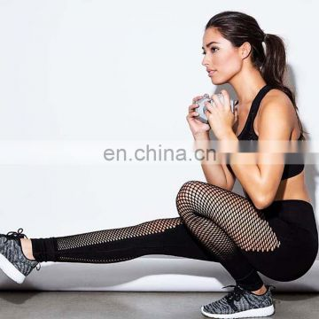 Women sexy mesh Elastic Creative leggings