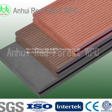 China Manufacture grooved deck board outdoor cheap tiles