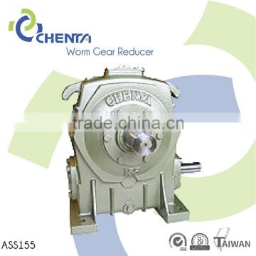 USX worm gear material agitators worm gearbox with flange right