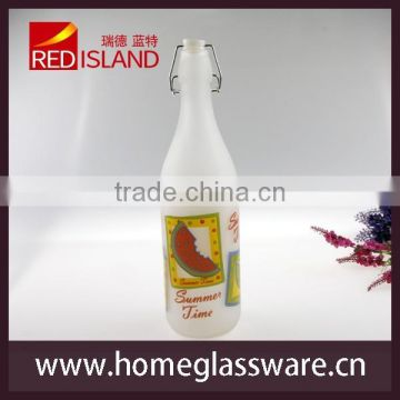 wholesale Decorator wine and water glass bottles brand new