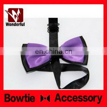 Designer useful new design men polyester dot bow tie