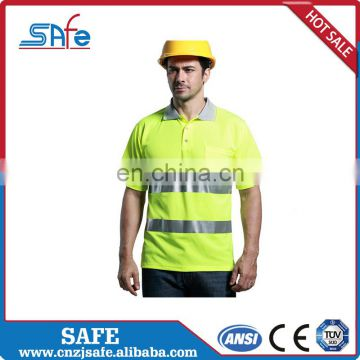 Wholesale high visibility orange safety shirts