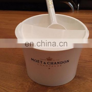 ICE IMPERIAL MOET CHANDON ICE CUBE HOLDER WITH SHELF PLUS SCOOP