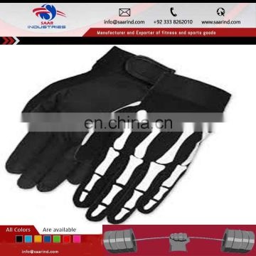 microfiber army green nylon tactical gloves