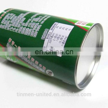 Wholesale mung bean ice powder drink packaging tin box