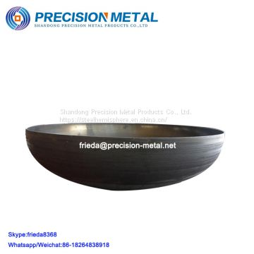 carbon steel pressure vessel elliptical torispherical dished end caps