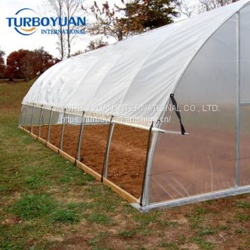 super strength clear reinforced woven greenhouse film made in China