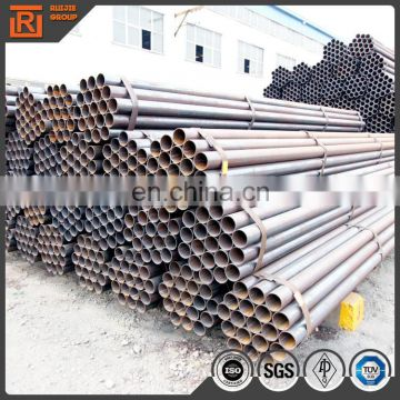 China tianjin manufacture steel black pipe straight welded steel pipe 60mmx3.5mm