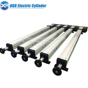 Shenzhen DGR Electric Cylinder Precision Positioning Servo Electric Linear Telescopic Actuators