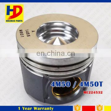 Diesel Engine 4M50 4M50T Genuine Piston Set ME224632