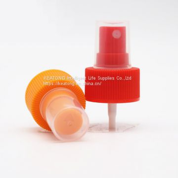 28/410 Size Bottle Red&Orange Color Mist Sprayer Pump