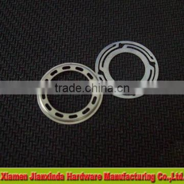 Flat stainless steel washers