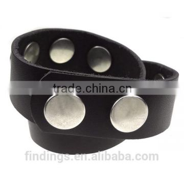 CJ1291 bali click snap button luxe button bracelet,button leather bracelet charm jewellery,snap button jewelry