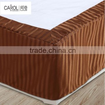 luxury biodegradable organic hypoallergenic hotel bed skirt