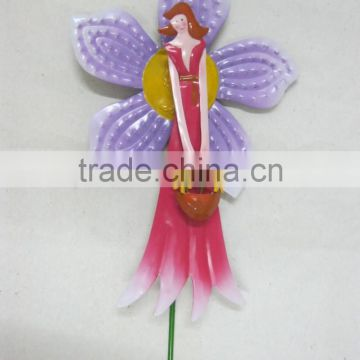 fairy garden stake 2015 newest metal fairy stake fairy garden pick fairy garden decoration garden decor fairy stakes