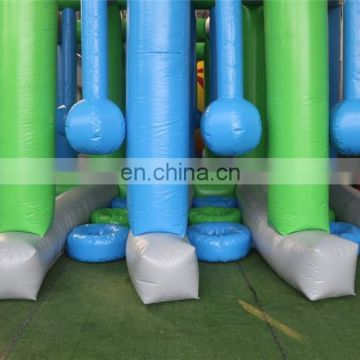 Popular inflatable games china floating obstacle course bounce house with En14960/EN15649