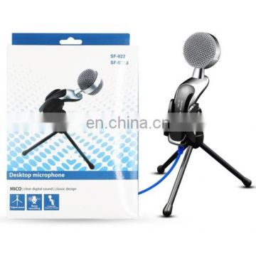 Professional Condenser Sound Recording Microphone with Tripod Holder