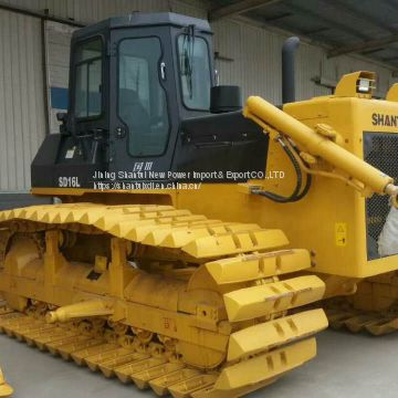 China brand crawler bulldozer 160hp shantui bulldozer sd16 with ripper for sale