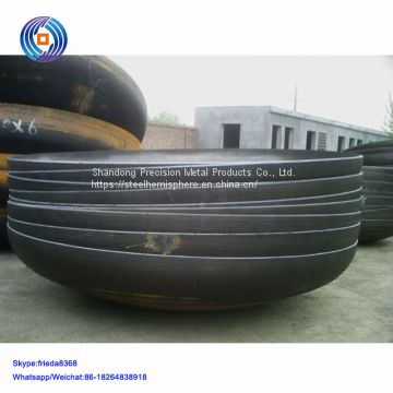 Carbon steel dished end elliptical head for gas tank