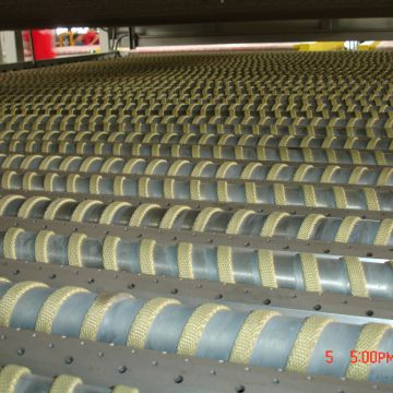 Kevlar Ropes used on Glass Tempering Furnace