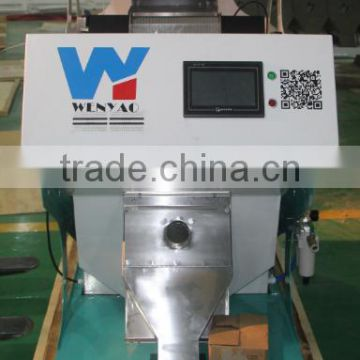 one chute 5340 CCD camera rock ccd color sorting machine