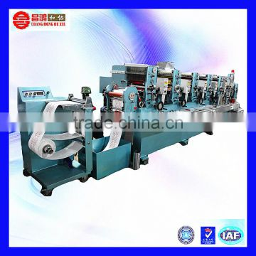 CH-320 China low price simple to operate letterpess chemical label printing machine