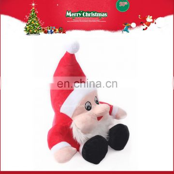 christmas santa claus plush doll