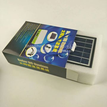 3W4.4AH Solar power system Lithium battery solar system