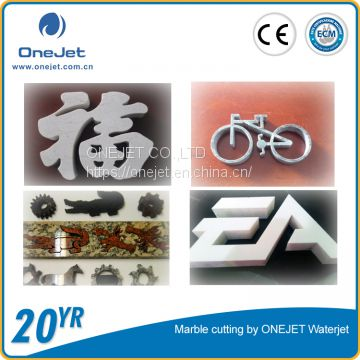 Onejet waterjet cutting machine for stone cutting