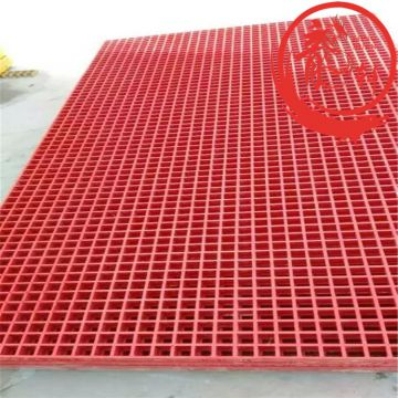 Red Frp Grating Walkway Grating