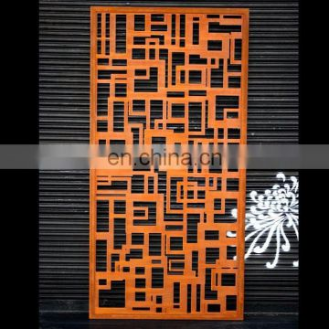 Decorative Modern Metal Sheet Privacy Partition Panels